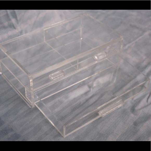 Container Store Acrylic Jewelry Organizer
